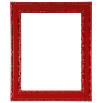 Monticello Rectangle Frame # 822 - Holiday Red