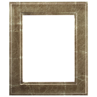 Montreal Rectangle Frame # 830 - Champagne Gold