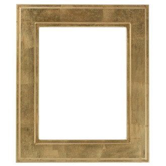 Montreal Rectangle Frame # 830 - Gold Leaf
