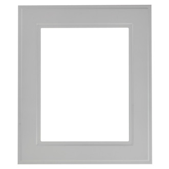 Montreal Rectangle Frame # 830 - Linen White