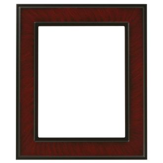 Montreal Rectangle Frame # 830 - Vintage Cherry