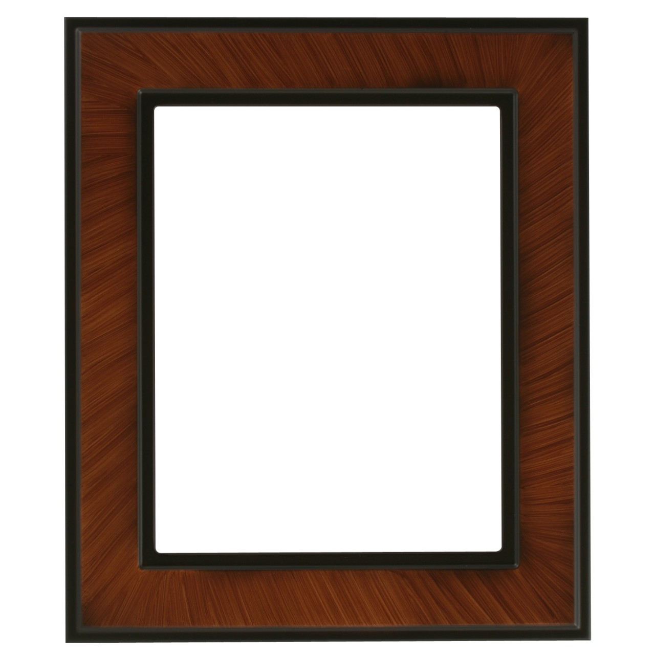 Poster frames with clip fasteners