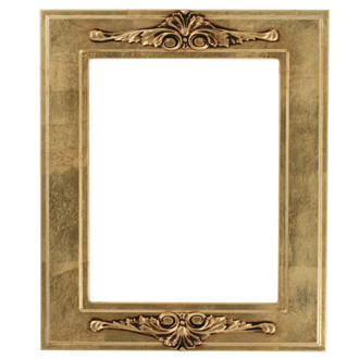 Ramino Rectangle Frame # 831 - Gold Leaf