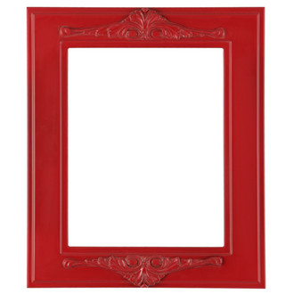 Ramino Rectangle Frame # 831 - Holiday Red
