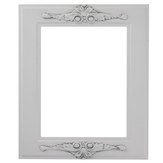 Ramino Rectangle Frame # 831 - Linen White