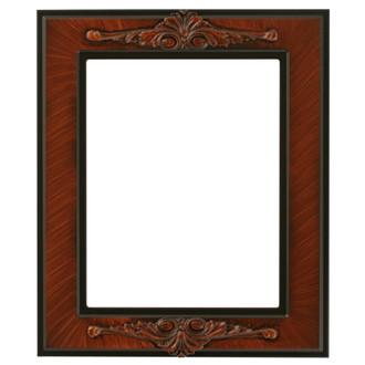 Ramino Rectangle Frame # 831 - Vintage Walnut