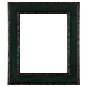 Paris Rectangle Frame # 832 - Hunter Green