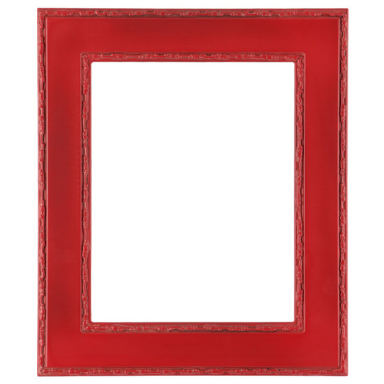 Rectangle Frame In Hunter Green Finish Ornate Decorations