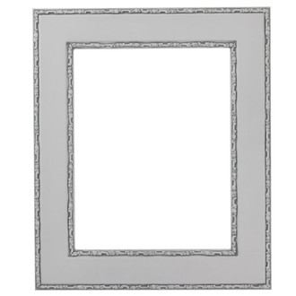 Paris Rectangle Frame # 832 - Linen White