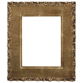 Williamsburg Rectangle Frame # 844 - Champagne Gold