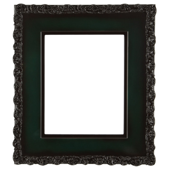 Rectangle Frame In Hunter Green Finish Wide Profile