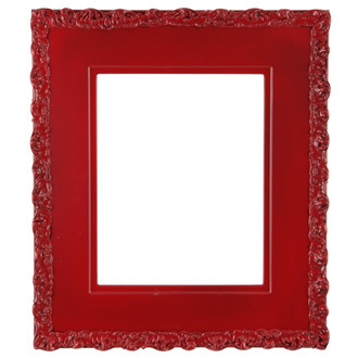 Williamsburg Rectangle Frame # 844 - Holiday Red