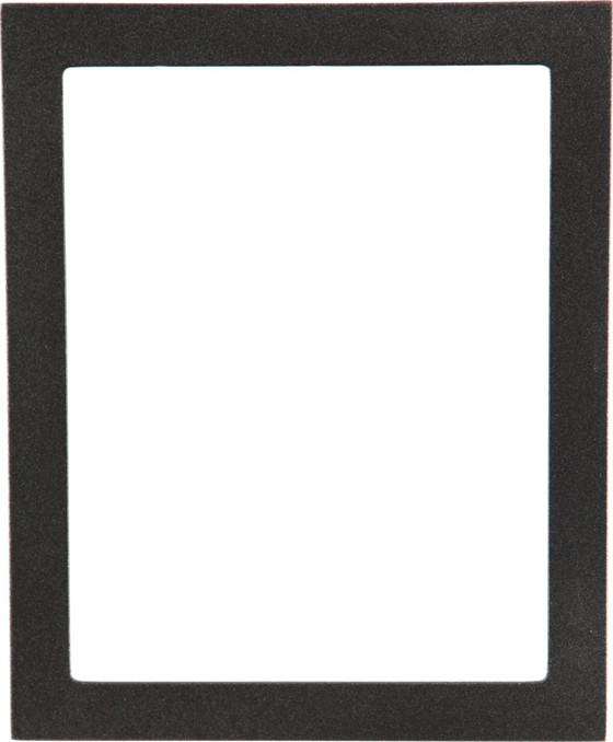 Rectangle Frame in Black Silver Finish| Simple Black Picture Frames ...