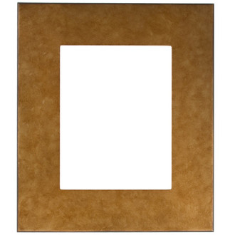 Boulevard Rectangle Frame # 864 - Burnished Gold