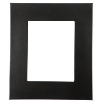 Boulevard Rectangle Frame # 864 - Black Silver