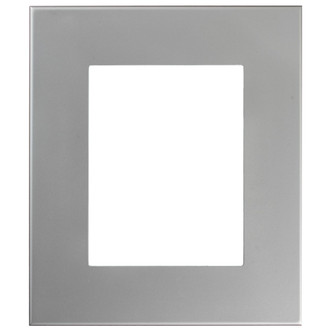 Boulevard Rectangle Frame # 864 - Bright Silver