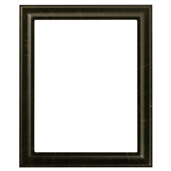 Rectangle Frame In Veined Onyx Finish Dark Picture Frames