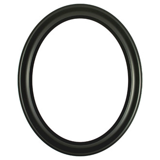 Messina Oval Frame # 871 - Matte Black
