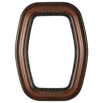 Boston Hexagon Frame #457 - Vintage Walnut