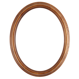 Melbourne Oval Frame # 300 - Toasted Oak