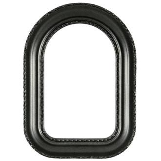 Somerset Cathedral Frame #452 - Black Silver