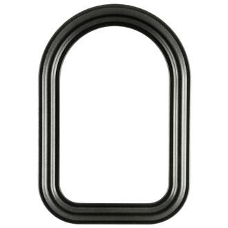 Philadephia Cathedral Frame #460 - Black Silver
