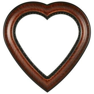 Chicago Heart Frame #456 - Vintage Walnut