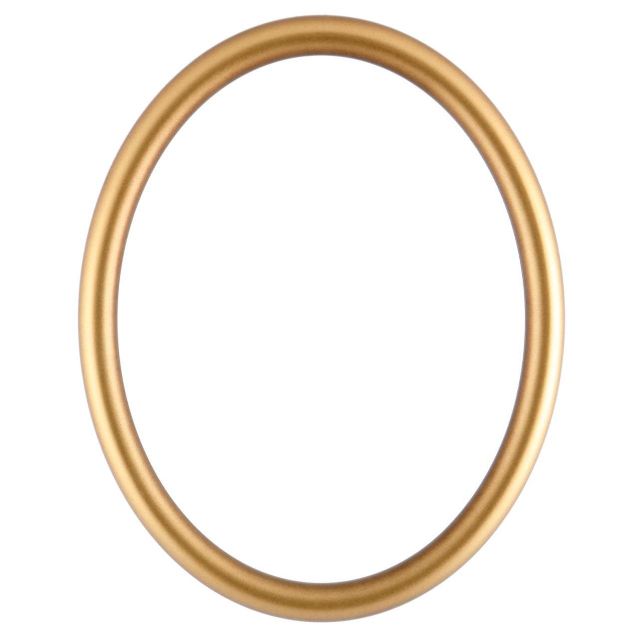 Oval Frame In Desert Gold Finish Antique Gold Picture
