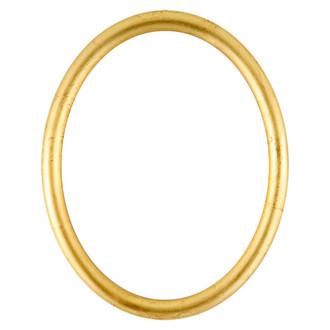 Pasadena Oval Frame # 250 - Gold Leaf