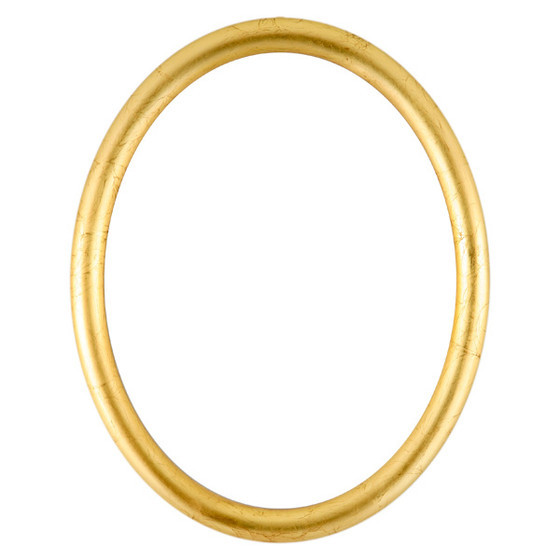 Oval Frame In Gold Leaf Finish Gold Picture Frames With