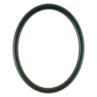 Pasadena Oval Frame # 250 - Hunter Green