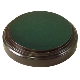 Hunter Green Base - Glass Dome Included