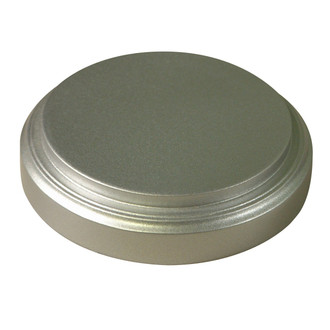 Silver Spray Base - Glass Dome Included
