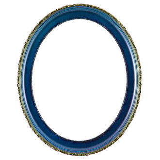 Kensington Oval Frame # 401 - Royal Blue