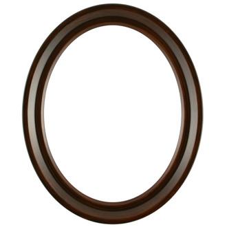 Newport Oval Frame # 422 - Mocha