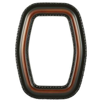 Somerset Hexagon Frame #452 - Walnut