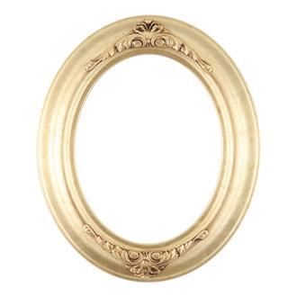 Winchester Oval Frame # 451 - Gold Leaf