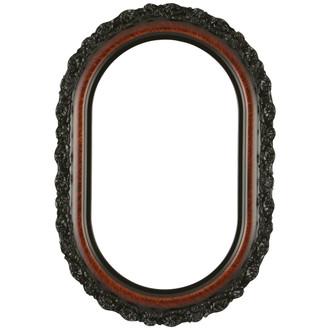 Venice Oblong Frame #454 - Vintage Walnut