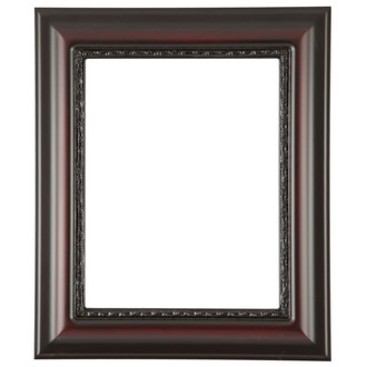Chicago Rectangle Frame #456 - Rosewood