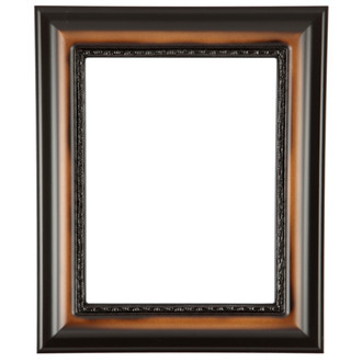 Chicago Rectangle Frame #456 - Walnut