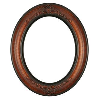 Winchester Oval Frame # 451 - Vintage Walnut