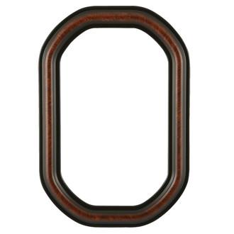 Philadelphia Octagon Frame #460 - Vintage Walnut
