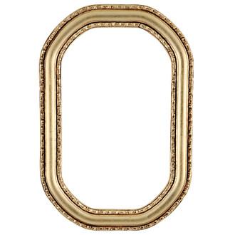 Dorset Octagon Frame #462 - Gold Leaf
