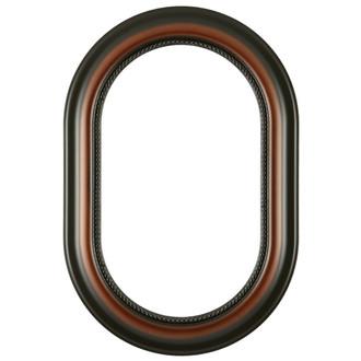 Heritage Oblong Frame #458 - Walnut