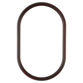 Saratoga Oblong Frame #550 - Rosewood