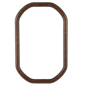 Saratoga Octagon Frame #550 - Vintage Walnut