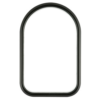 Hamilton Cathedral Frame #551 - Matte Black with Silver Lip