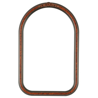 Contessa Cathedral Frame #554 - Vintage Walnut