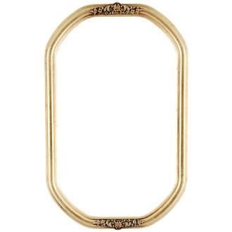 Contessa Octagon Frame #554 - Gold Leaf