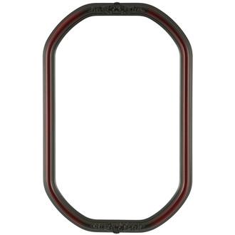 Contessa Octagon Frame #554 - Rosewood